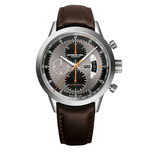 RAYMOND WEIL Freelancer Titanium Automatic Chronograph Gents Watch 7745-TIC-05609